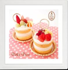 人気の体験レッスン!!【ショートケーキのメモスタンド】(初心者OK)