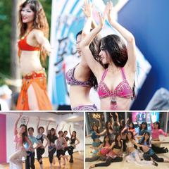 NOAダンス教室 新宿校 受け放題コース ベリーダンス、フラ、タヒチアン