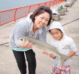 にっちょうしんのウキ釣り教室「波止場の実釣編」