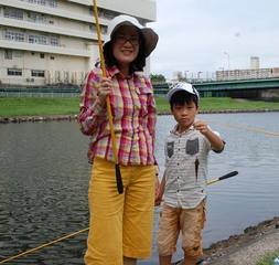 初心者対象 陸(おか)(河川敷)からのハゼ釣り 体験釣り教室 参加者募集!
