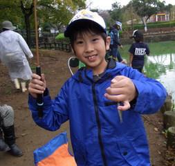 9月19日(月曜日・敬老の日)開催! クチボソ釣り教室