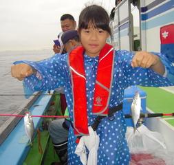 アジ・サバ釣り体験教室参加者募集