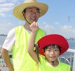 【平成28年10月23日(日)開催】第2回若洲海浜公園 初心者・ファミリー釣り教室