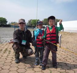 としまえん 親子釣り教室 ルアーフィッシングに挑戦!【平成29年3月26日(日)】