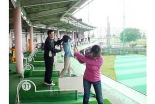 初心者ゴルフ教室&nbsp 武里ゴルフセンター