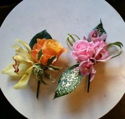 【卒・入学式にどうぞ】手作りコサージュレッスン☆★