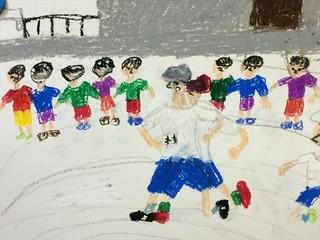 【幼児・小学生対象クラス】絵画・粘土など様々な作品を作ります♪