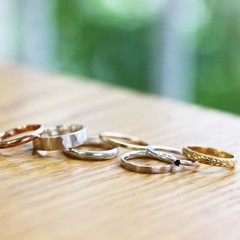 ☆ペアリングやプレゼントに☆ 指輪の手作り体験コース