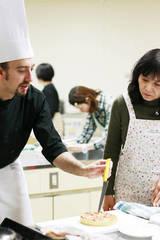 フランス人シェフが日本語で行う【料理教室】