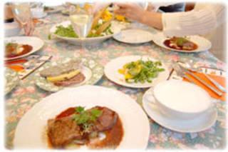 欧風家庭料理の月1コース★