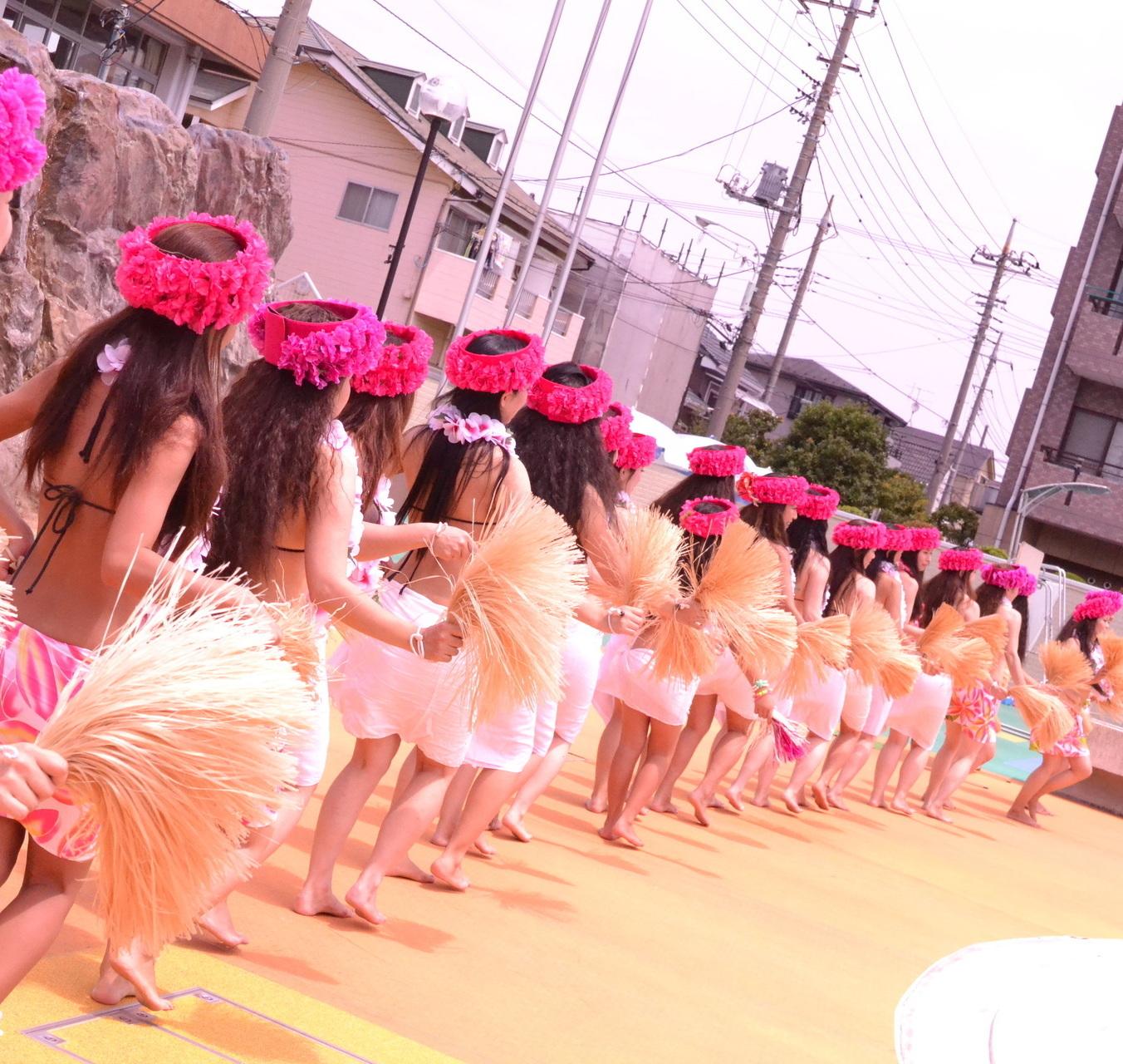 タヒチアンダンススクール Tamariki Saitama Aita e pe' ape'a