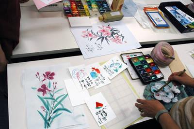 【悠々書道】遊び心いっぱいの彩色に富んだ作品づくり(東京)