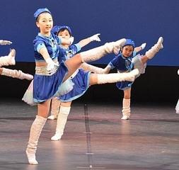 3才から6年生までのキッズジャズダンス