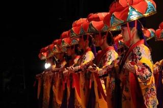 琉球舞踊のおけいこ♪楽しい発表会♪中目黒駅♪教室ダンス
