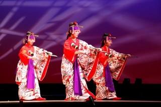 琉球舞踊のおけいこ♪楽しい発表会♪四谷駅♪教室ダンス