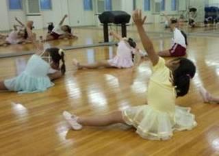 春日部市にあるバレエ幼児クラス(土曜日)