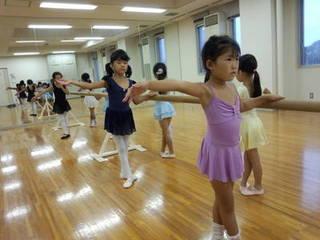 春日部、八木崎にあるバレエ教室児童B(水曜日)