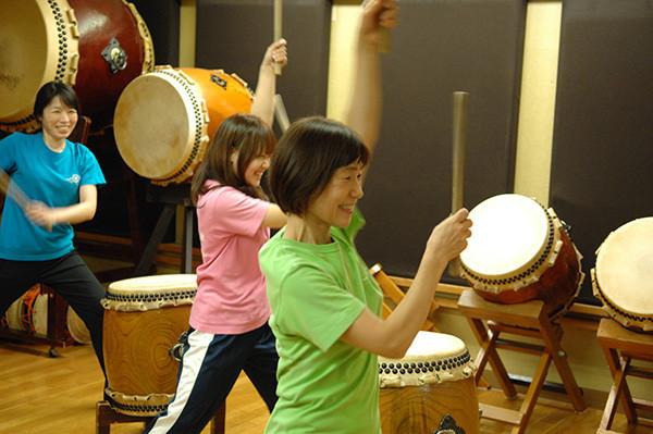飛翔和太鼓教室