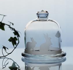 雑貨大好き☆可愛いガラス製ミニケーキドームを作ろう♪テラリウムの容器としても素敵です♪体験随時♪
