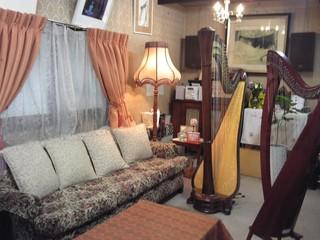 世田谷の隠れ家 ハープ奏者 涌井純子の音楽教室