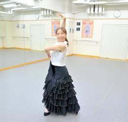 【土曜:10時半~】初級~中級(アマポーラクラス)【フラメンコとスペイン古典舞踊が習える】