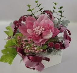 【体験レッスン】 きれいがずっと長く続く!ろう花アレンジメント