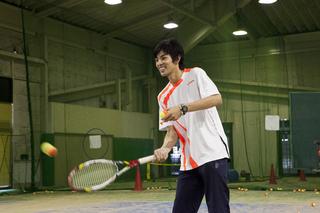 テニススクール本科レッスン1ヶ月1,080円/月コース