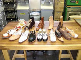 靴作り一足初級Bコース 革靴を制作