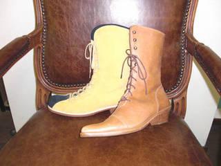 靴作り一足初級Cコース ロングブーツを制作
