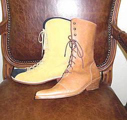 【世界で1足だけの靴を自分の手で作ろう!】初級 靴作り 1足 コース(レディスロングブーツ)