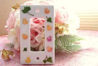 親子1DAYレッスン 実用講座 お花で可愛い小物デコパージュ