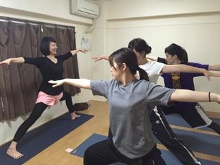 ハタヨガ60分!【1day単発¥1,000】ベーシックな基本のヨガクラス1回完結で体験のみOK!