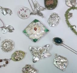 純銀粘土で作るアクセサリー資格講座