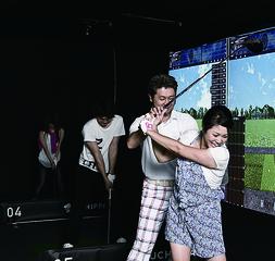 【1回1500円♪】ゴルフの楽しさを実体験☆3ヵ月後にはラウンドデビュー@本町・肥後橋