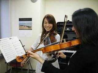 楽しく始めよう!初心者でもOK♪ バイオリンコース