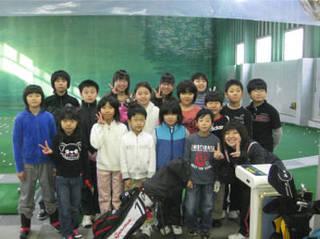 札幌ファーストゴルフスクール ジュニア体験レッスン