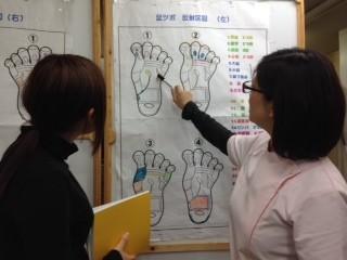 広い下関校も人気!ニーズの高い技術を集中習得!中国式足つぼコース