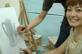 アートで過ごす優雅な休日♪絵画講座コース(土曜・日曜)基礎クラス