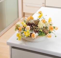 お花が好き! お花を学んでみたい! 季節のお花を飾りたい! ライトコース体験レッスン