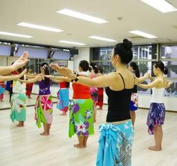女子の確実なシェイプアップに!♪♪ タヒチアンダンス【アパリマ初級】体験レッスン