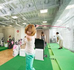 毎日7時~24時まで定額制で「レッスン受け放題」でゴルフデビュー!【フルタイム会員】
