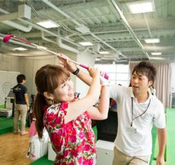 【ワンコイン】ゴルフ体験レッスン!毎日開催!50分!通常レッスン時に参加
