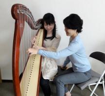 高田ハープサロンハープ音楽教室