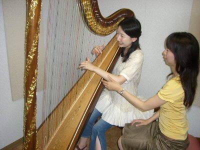 大阪ハープ教室話題のハープを始...