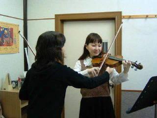 【バイオリン教室】月4回レッスンコース(青山ハープ(株)ハープ教...