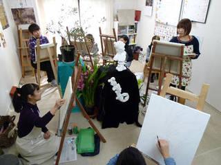 個性を大切に学べる絵画教室 油絵、水彩、パステル、デッサン…