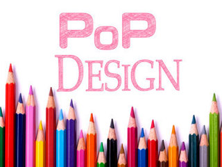 POPデザイナーW資格取得講座 今人気のPOPデザイナーの資格が簡単に取得出来る通信教育講座