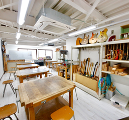 ギター製作コース(セットネック) 【ESPクラフトスクール大阪校...