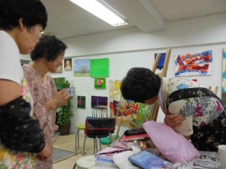 【未経験者でも大丈夫!】Boutons d'artアート教室★1コイン500円体験レッスン120分★