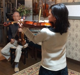 数回のレッスンで貴方のバイオリンが感動的に変わります(松原バイオ...